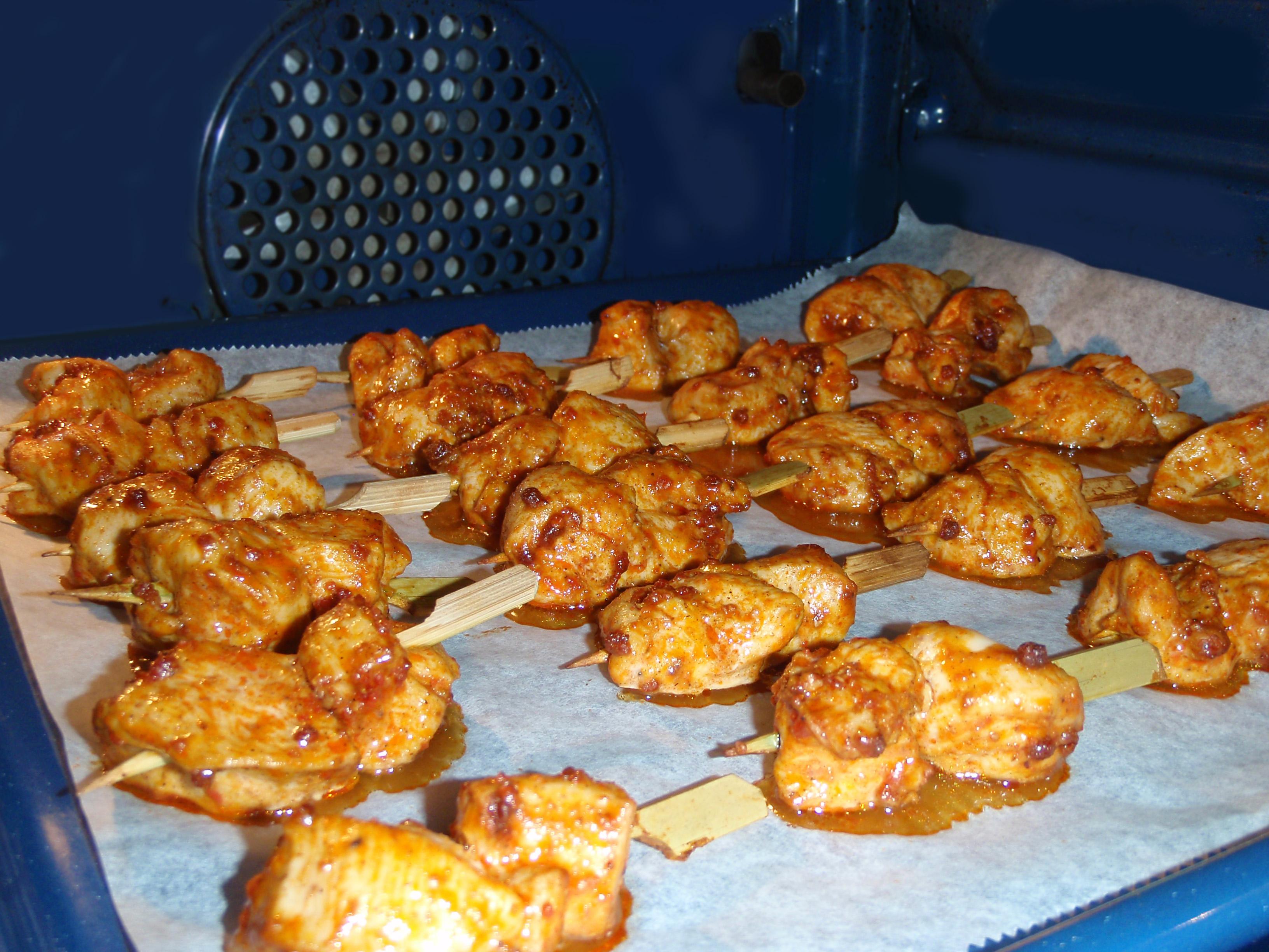 poulet au saté