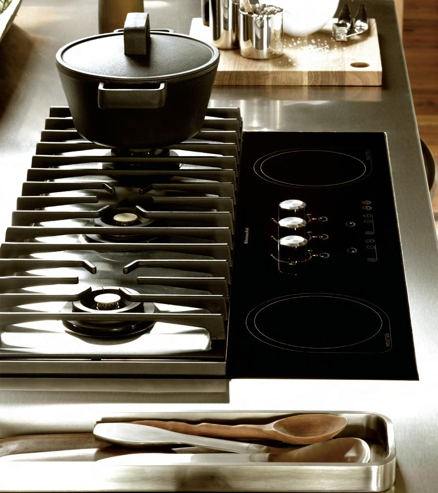 Table cuisson mixte - Table de cuisson gaz induction ...