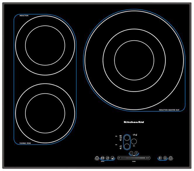 table induction kitchenaid pas cher