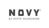 logo Hotte silencieuse Novy
